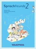 Sprachfreunde 2. Schuljahr. Sprachbuch mit Grammatiktafel und Entwicklungsheft