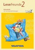 Lesefreunde 2. Schuljahr. Arbeitsheft. Östliche Bundesländer und Berlin Neubearbeitung 2015