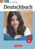 Deutschbuch 8. Schuljahr. Schülerbuch Rheinland-Pfalz