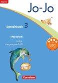 Jo-Jo Sprachbuch - Grundschule Bayern. 3. Jahrgangsstufe - Arbeitsheft in Schulausgangsschrift