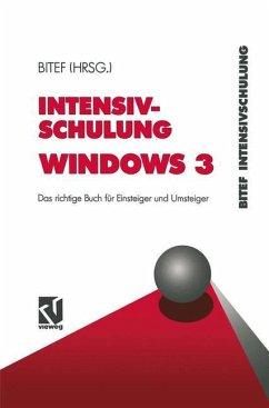 Intensivschulung Windows 3