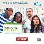 Audio-CD zum Kursbuch / Pluspunkt Deutsch - Leben in Deutschland Bd.A1/1, Tl.1