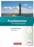 Fundamente der Mathematik 6. Schuljahr. Schülerbuch Gymnasium Sachsen-Anhalt