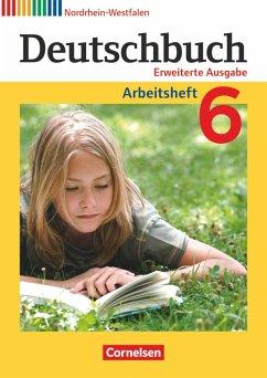 Deutschbuch 6. Schuljahr. Arbeitsheft mit Lösun...
