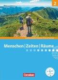 Menschen Zeiten Räume 02: 7./8. Schuljahr. Schülerbuch. Gesellschaftslehre/Gesellschaftswissenschaften - Rheinland-Pfalz und Saarland