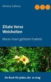 Zitate Verse Weisheiten (eBook, ePUB)