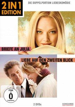 Briefe an Julia / Liebe auf den zweiten Blick (2 in 1 Edition, 2 Discs) - Seyfried,Amanda/Hoffman,Dustin