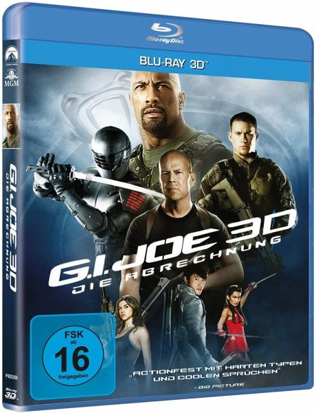 g i joe die abrechnung blu ray 3d auf blu ray 3d. Black Bedroom Furniture Sets. Home Design Ideas