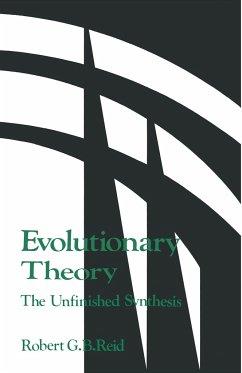 Evolutionary Theory: