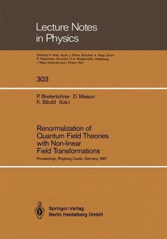 Renormalization of Quantum Field Theories with Non-linear Field Transformations