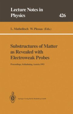 Substructures of Matter as Revealed with Electroweak Probes