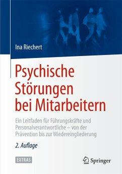 Psychische Störungen bei Mitarbeitern - Riechert, Ina
