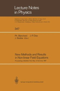 New Methods and Results in Non-linear Field Equations