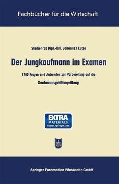 Der Jungkaufmann im Examen - Lutze, Johannes