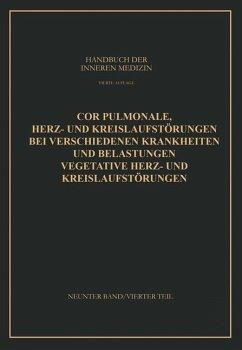 Cor Pulmonale Herz- und Kreislaufstörungen bei Verschiedenen Krankheiten und Belastungen Vegetative Herz- und Kreislaufstörungen