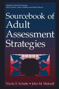Sourcebook of Adult Assessment Strategies