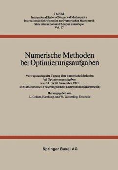 Numerische Methoden bei Optimierungsaufgaben