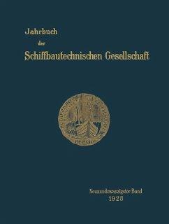 Jahrbuch der Schiffbautechnischen Gesellschaft - Schiffbautechnischen Gesellschaft