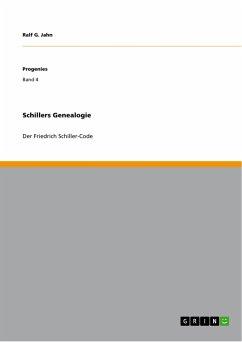 Schillers Genealogie