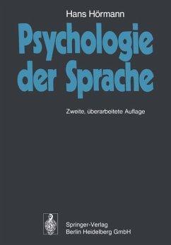Psychologie der Sprache