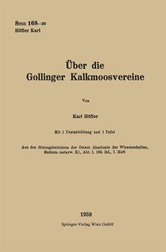 Über die Gollinger Kalkmoosvereine