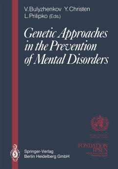 Genetic Approaches in the Prevention of Mental Disorders