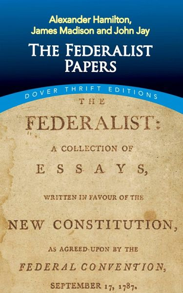 federalist papers 47 About the federalist federalists no 47–51 (madison or hamilton madison concluded that a mere definition on paper of the three departments.