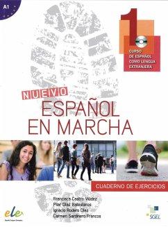 Nuevo Español en marcha 1. Arbeitsbuch mit Audio-CD - Castro Viúdez, Francisca; Díaz Ballesteros, Pilar; Rodero Díez, Ignacio; Sardinero Franco, Carmen