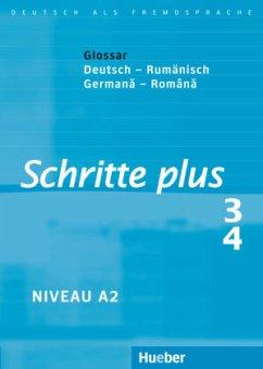 Schritte plus 3+4 Glossar Deutsch-Rumänisch
