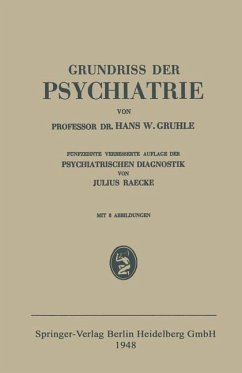 Grundriss der Psychiatrie