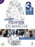 Nuevo Español en marcha 3. Arbeitsbuch mit Audio-CD