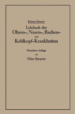 Lehrbuch der Ohren-, Nasen-, Rachen- und Kehlkopf-Krankheiten