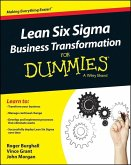 Lean Six Sigma Business Transformation For Dummies (eBook, PDF)