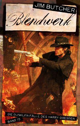 Buch-Reihe Harry Dresden von Jim Butcher