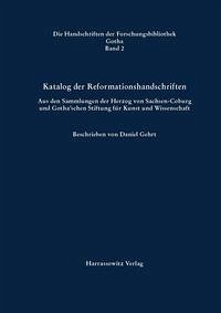 Katalog der Reformationshandschriften