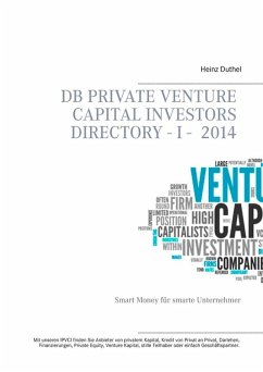 DB Private Venture Capital Investors Directory I - 2014 (eBook, ePUB) - Heinz Duthel