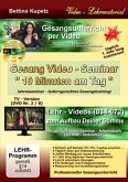 GESANG VIDEO - SEMINAR - DVD Nr. 2