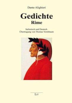 Gedichte - Rime - Dante Alighieri