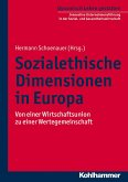 Sozialethische Dimensionen in Europa (eBook, PDF)