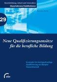 Neue Qualifizierungsansätze für die berufliche Bildung (eBook, PDF)