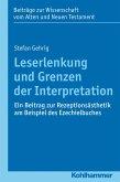 Leserlenkung und Grenzen der Interpretation (eBook, PDF)