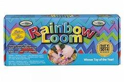 Rainbow Loom Starterset mit Metallhaken, Webrahmen für Gummibänder - das Original, deutsche Version