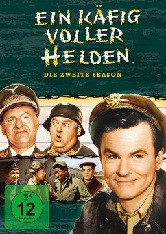 Ein Käfig voller Helden - Season 2 DVD-Box - Richard Dawson,Robert Clary,Werner Klemperer