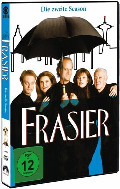 Frasier - Season 2 DVD-Box - John Mahoney,Jane Leeves,Peri Gilpin