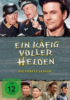 Ein Käfig voller Helden - Staffel 5 DVD-Box - Richard Dawson,Robert Clary,Werner Klemperer