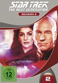 STAR TREK: The Next Generation - Season 2 DVD-Box - Wil Wheaton,Whoopi Goldberg,Marina Sirtis
