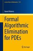 Formal Algorithmic Elimination for PDEs