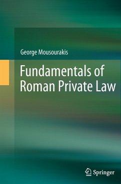 Fundamentals of Roman Private Law