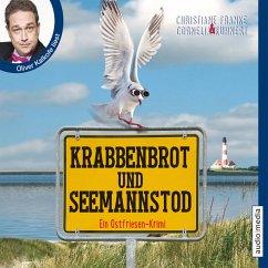 Krabbenbrot und Seemannstod / Ostfriesen-Krimi Bd.1 (MP3-Download) - Kuhnert, Cornelia; Franke, Christiane