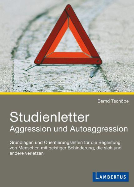 studienletter aggression und autoaggression ebook pdf von bernd tsch pe. Black Bedroom Furniture Sets. Home Design Ideas